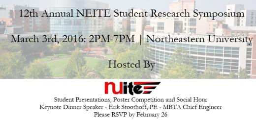 2016 Student Symposium