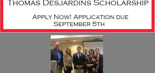 2014 Desjardins Scholarship